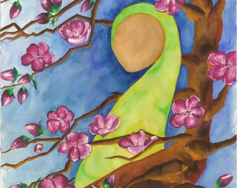 Eve Apple Blossom Print (8x10)