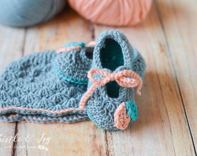 Petal Princess Set Crochet PATTERN PDF DOWNLOAD