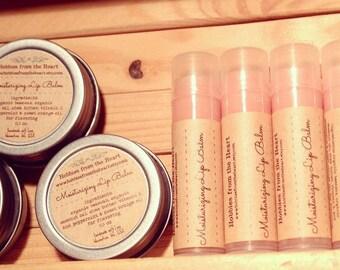 Custom Lip Balm Labels - Brown kraft  Custom