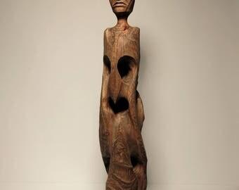 Abstract Primitive Sculpture Figure