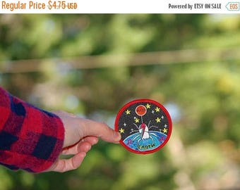 Back To School Sale Spider Bowie Patch Free (US) Shipping David Bowie patch Spider Ziggy Stardust Patch Iron On patches music stardust Patch