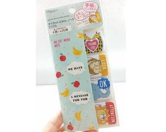 Animal Die Cut Memo Note / Sticky Notes