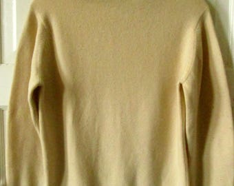 Macy Associates Cashmere Turtleneck Sweater Made in Scotland S - M