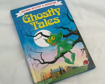 Ghostly Tales - Vintage Ladybird Book Mystery & Adventure - 1st Edition 1987 - Glossy Covers