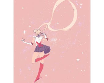 Sailor Moon (Print)