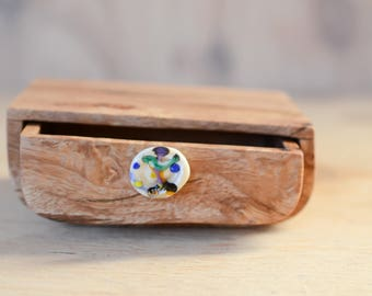Reclaimed timber boat wooden box. Wood grain. Wooden box. Painterly. Wood drawer box. Glass drawer box. glass and wood