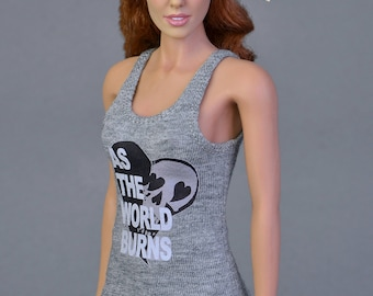 1/6th scale female tank top inspired by Moira Burton from the game Resident Evil Revelations 2