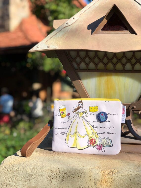 Tale as Old as Time Wristlet
