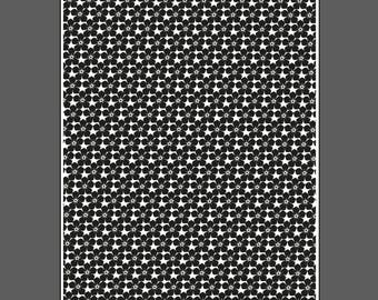 Forget-me-not flowers small - laser engraved texture sheet for rolling mill and metal clay