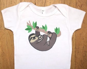 Sloth Baby Onesie - Sloth Baby Clothes