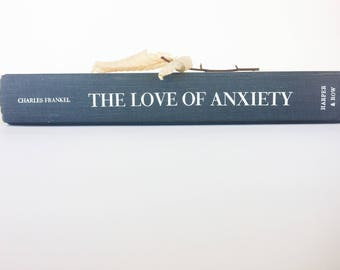 Hardcover Mixed Paper Journal - The Love of Anxiety -  Mixed Paper Notebook, Gray and Beige Journal, Colorful mixed paper, bright pages