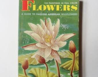 Wild Flower Book, Pocket Size Book on American Wildflowers, Field Guide on Flower Identification