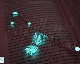 Dragonfly BOOKMARK /  GLOW in the DARK / Glow Bookmark / Glow Bookmark /