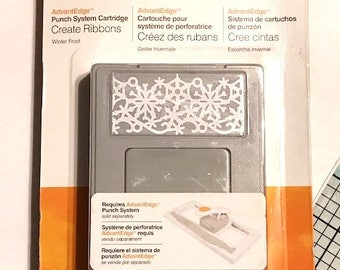 Fiskars Winter Frost Border Punch Cartridge - New (Requires the AdvantEdge Border Punch Set Not Included)