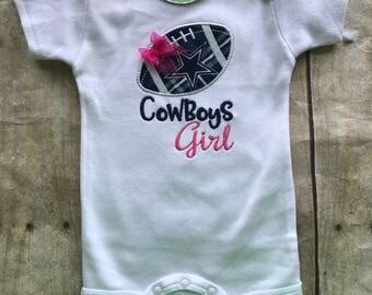 Dallas Cowboys Girl Shirt or bodysuit