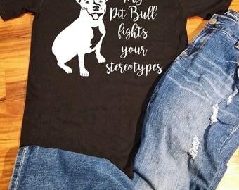 Pit Bull T Shirt, Pit Bull Shirt, pit bull shirt Women, Pitbull Shirt, Pitbull Shirt Men, Pitbull Shirt Women, Pit bull TShirt, Pitbull Mom