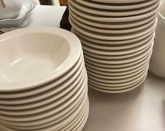 Ironstone Bowls Restaurant China Homer Laughlin Vintage Diner 50s 60s Farmhouse Style Farmhouse Dishes Picnic