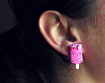 Boucles d'oreilles ''Sugar Rush''