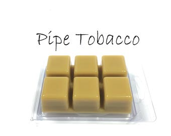 Pipe Tobacco Scented Wax Cubes Melts