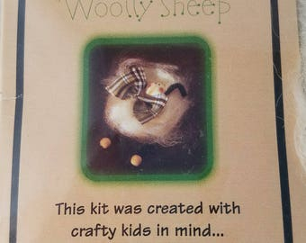 Make Your Own Woolly Sheep Kit UNOPENED Made in England