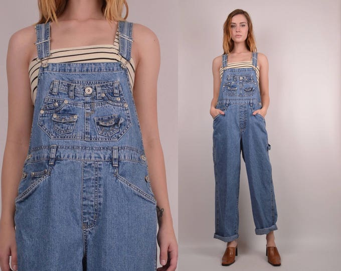 20% OFF  SALE Vintage Denim Overalls
