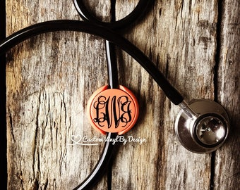 Littman Stethoscope ID Tag | Stethoscope ID Tag | Stethoscope Name Tag | Stethoscope Accessories | RN Gifts | Gift for Nurse | Med School
