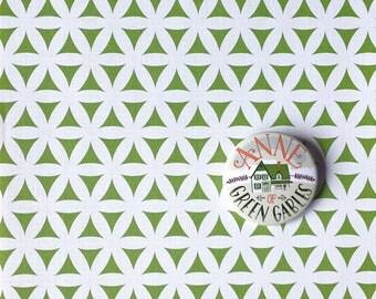Spilla illustrata dedicata a Anna dai capelli rossi, pin