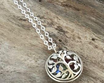 Birthstone necklace for Grandma | Grandma Jewelry | Grandma Gift | Birthstone Necklace | Grandma Necklace | Mom Necklace