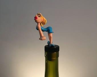 Twerking Wine Stopper, Twerk Gift, Twerker, Wine Gifts, Dancer Gift, Booty Dance, Love to Dane, Gift Ideas, Wine Lover, Wine