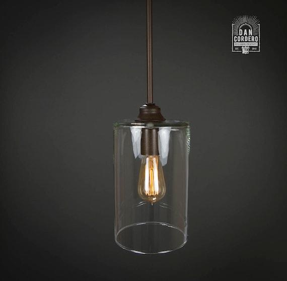 Pendant Light Fixture Edison Bulb Oil Rubbed Bronze