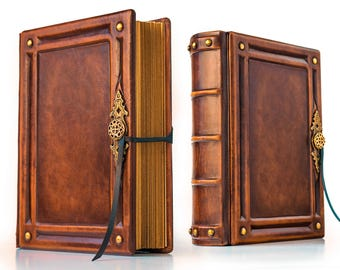 "8"" x 10"" - Large Leather Journal - 700 pages - unique journal, special gift, leather sketchbook, unique notebook"