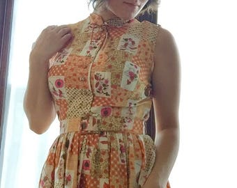 Adorable 60s Day Dress