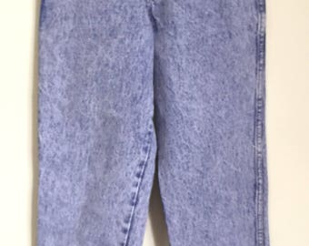 Acid Wash High Waisted Mom Jeans from Rio by Stephen Mardon