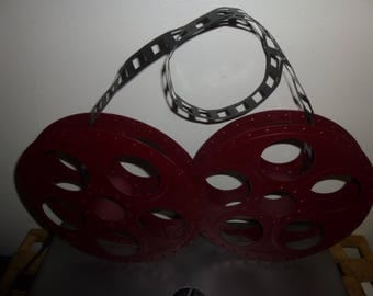 Movie Reels Wall Hanging - Funky standing or Wall Hanging Decor Item,  Realistic Form - Art Piece, Cinema