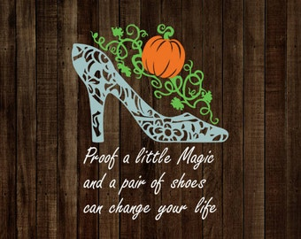A Little Magic and a Pair of Shoes Decal