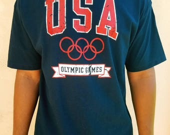 "Vintage Atlanta USA ""Olympic Games"" T-shirt - 90's"