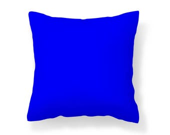 Blue Outdoor Pillow /UV Resistant Pillow / Blue Pillow / Mildew Resistant Pillow / Patio Pillow / Outdoor Cushion / Water Resistant
