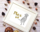 Choose Your Breed Whimsical Watercolor Art Prints - Digitally Delivered