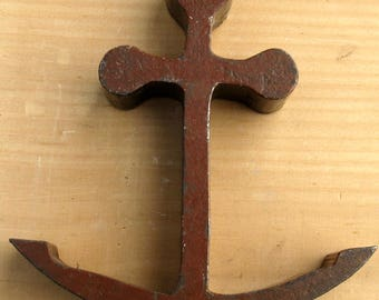 Paperweight Miniature Steel Boat Anchor