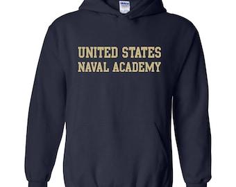 United States Naval Academy Hoodie - Navy
