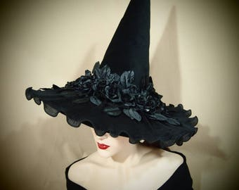 """Witch Hat """"Rosey"""""""