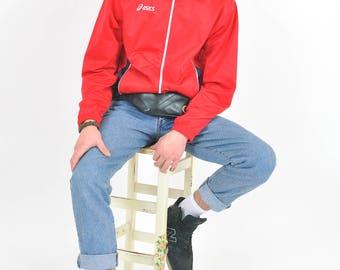 Vintage 90's track Asics jacket