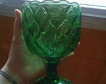 Authentic vintage 50's green chartreuse cup