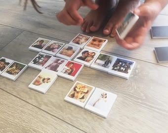 24 Custom Photo Magnet | Custom Gift | Personalized Magnet | Photo Gift | Polaroid Magnets | Customised Magnets | Fridge Magnets