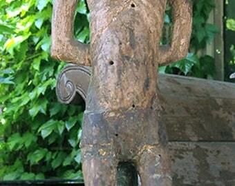 Antique Saint Sebastian, Early Martyr, Santos from Central America, No. 2