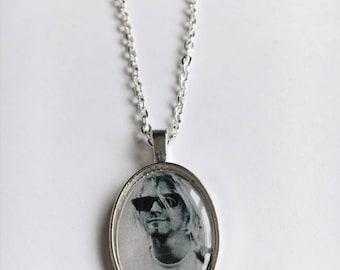Kurt Cobain Cameo Necklace