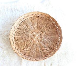 Vintage Wall Basket Large Decorative Tray Basket Decorative Hanging Basket