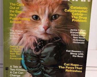 "Vintage Humor Magazine ""CATMOPOLITAN""/ 1980s Hummer/ Cat Magazine/ Cat Humor"