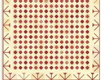 On The Plus Side Quilt Pattern - by Minick and Simpson - DOWNLOAD