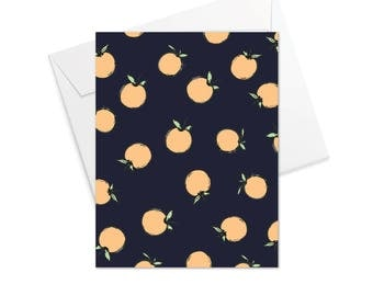 Peaches Fold Over Note Cards